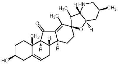 Jervine Structure