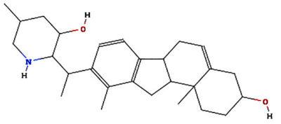 Veratramine Structure